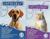 Advantage Blue X-Lge Dog Larger Than 55lbs 12.00