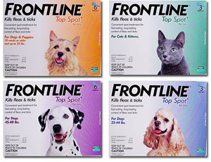 Frontline TopSpot (Known as Frontline Spot On) (Guaranteed Best Price)